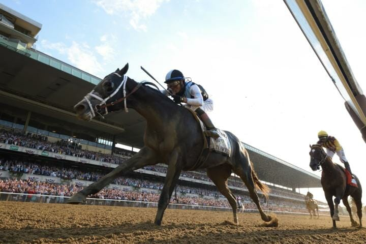 Belmont Stakes Winner Tapwrit Set For Seasonal Bow