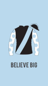 Believe Big Wallpaper Blue